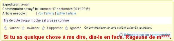 """Article """"Rubrique""""."""