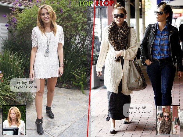 "Article ""Rubrique"" : TOP/FLOP Candids 2011."