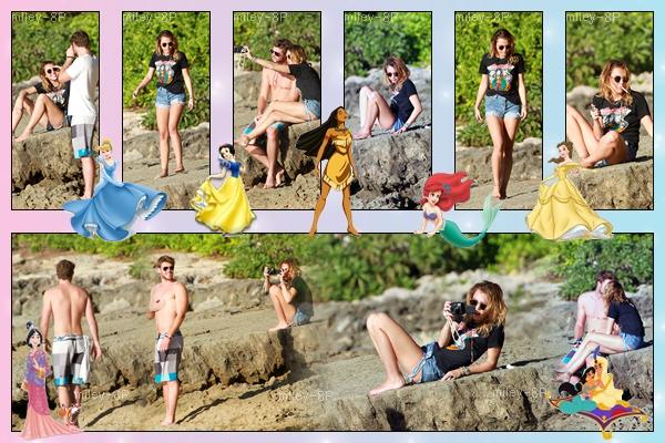 29.12.2011 Miley et Liam étaient à Hawaii. En un mot, j'adore.