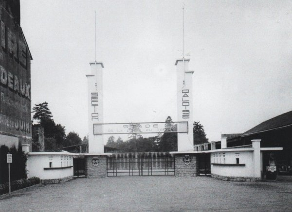 Le stade de la Croix du Prince