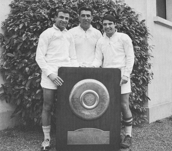 3ème titre de Champion de France pour la Section Paloise en 1964