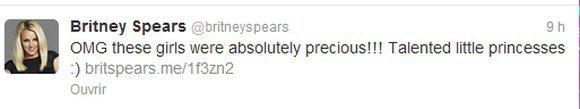 Tweet de Britney