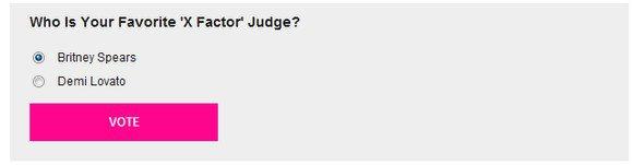 XFactor : Voter pour votre juge préféré !