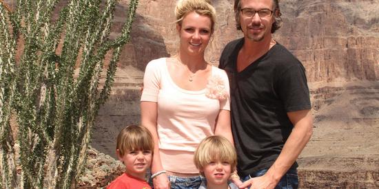 Britney fête l'anniversaire de ses fils