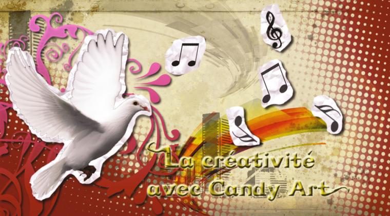 La creativiteé avec Candy Art !
