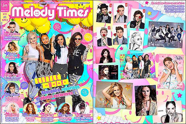 Les Little Mix font la première de couverture