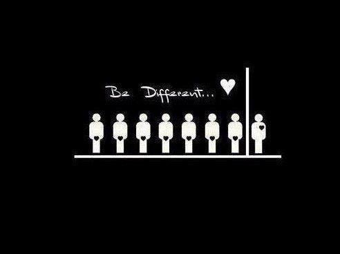 be diffrent !!