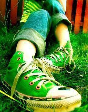 Converse Verte <3