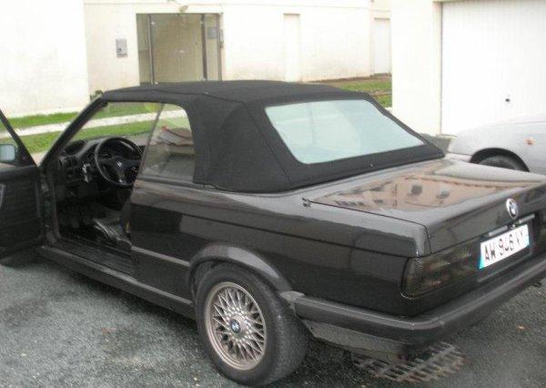 nouvelle voiture bmw e30 CAB 325I