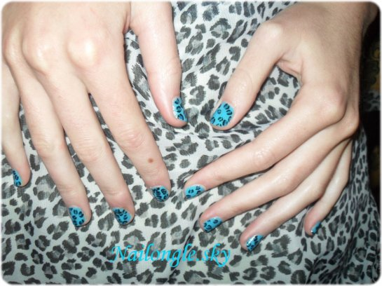 Blue panthere : D with nail of ma Seii seii