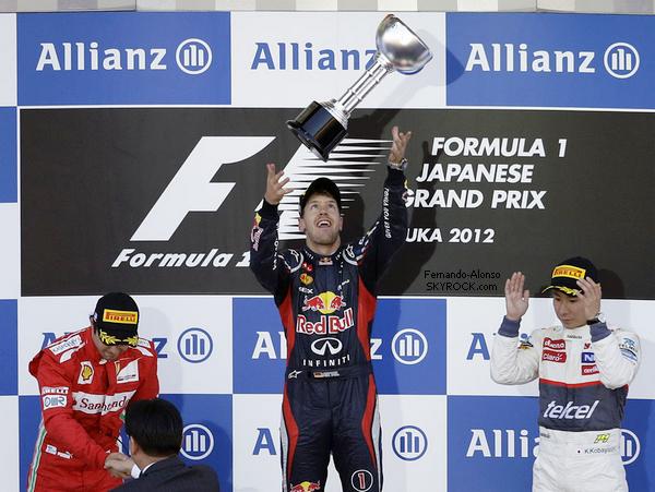 07.10.2012 : Grand Prix du Japon, Déclarations → C'était une course intéressante