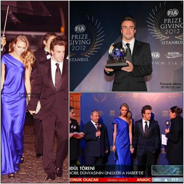 Le palais Ciragan, à Istanbul, accueillait vendredi soir la cérémonie de remise des prix de la FIA 2012