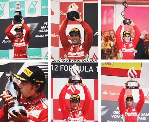 Fernando's Podiums