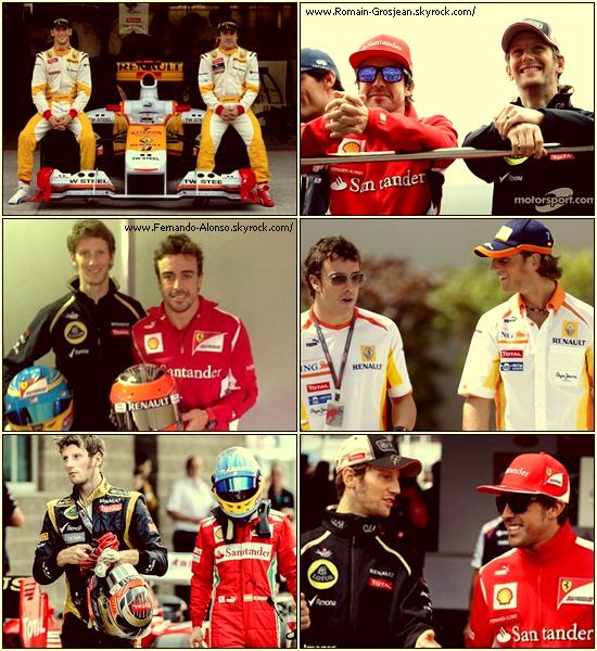 Fernando et Romain : Une amitié quoi qu'on puisse en dire.
