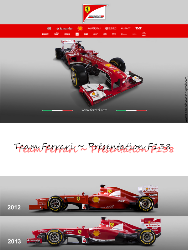 1.02.2013 : Présentation F138