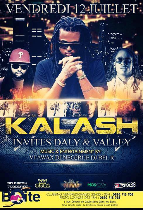 KALASH A NE PAS RATER