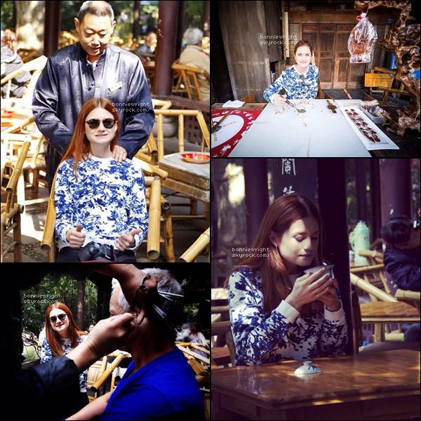 - 26 Septembre 2014 : Bonnie, toujours en Chine à Chengdu, est allée visiter le People's Park. -