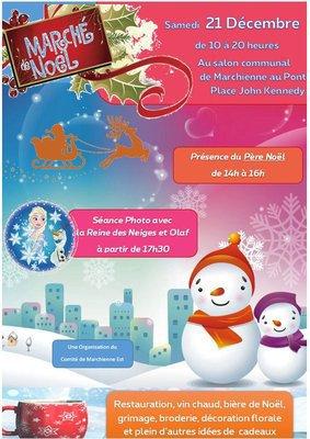 Marché de Noël du comité de quartier de Marchienne Docherie