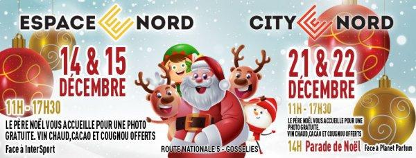 Parade du Père Noël & Shopping de fin d'année Venez rencontre...