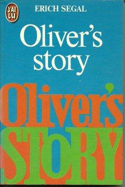 LIVRE: Oliver's Story-Erich Segal