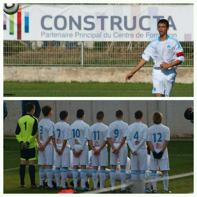 Centre de formation olympique de Marseille saison 2010-2011.