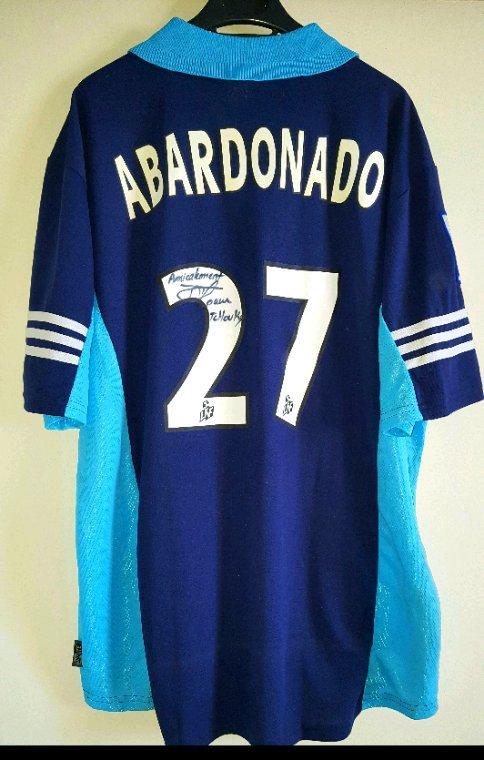 Jacques Abardonado N°27 dédicacé.