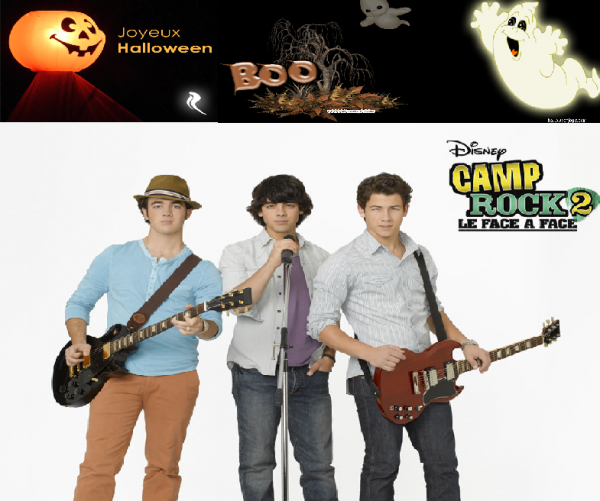 Camp Rock 2: Face à Face+joe et beverly hills still+ kevin, danielle et nick Yankee+Joe et lotre!