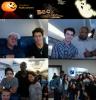 Joe et ashley+ Joe SEUL+ photo pris dans avion^^