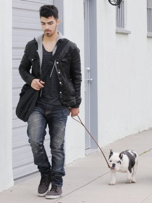 Joe et winston+scoop demi+Joe et ashley
