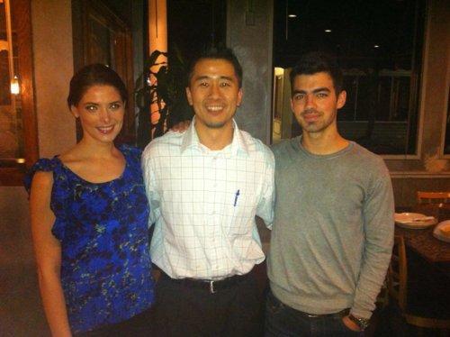 Jashley sushi+joe et une fan+la fille en cuire