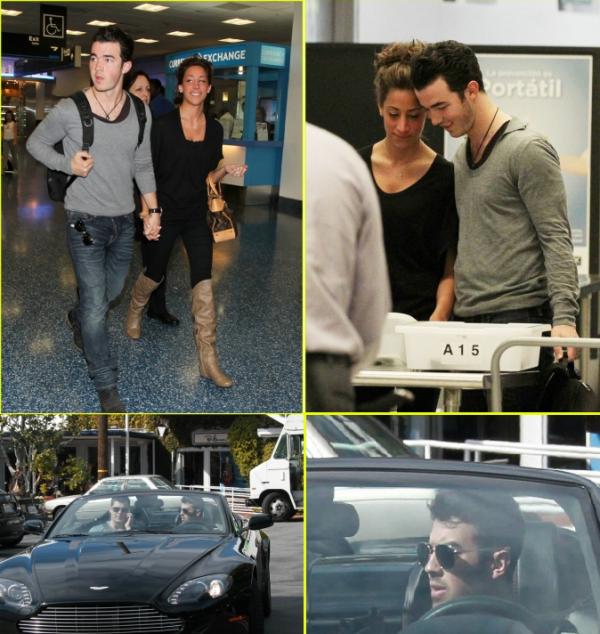 Joe west hollywood+Kanielle aéroport Miami
