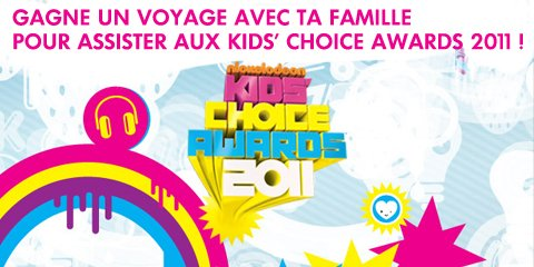 Kids Choice Award 2011 vote