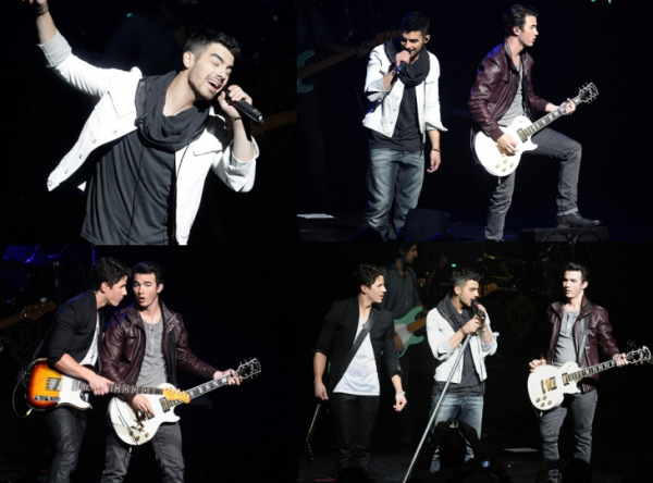 video concert+photo concert+surprise Nick