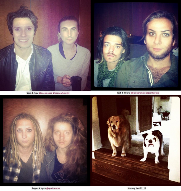 joe.tweet+joe.kev.fan+JB.répét+nick.Xfact+nick.fan