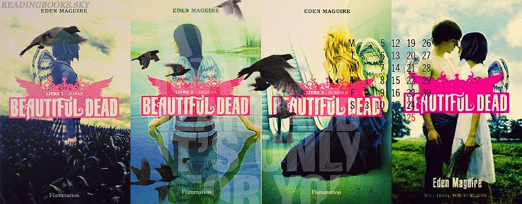 Beautiful Dead, Tome 1&2, Jonas&Arizona - Eden Maguire - By Del