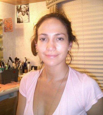 Jennifer Lopez sans maquillage :O