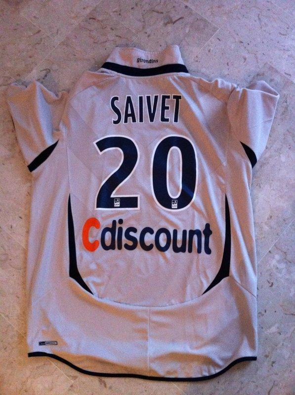 Maillot Saivet Bordeaux 2010 2011