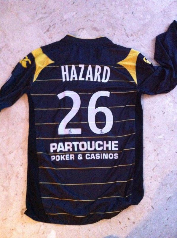 Maillot Eden Hazard Lille 2009 2010