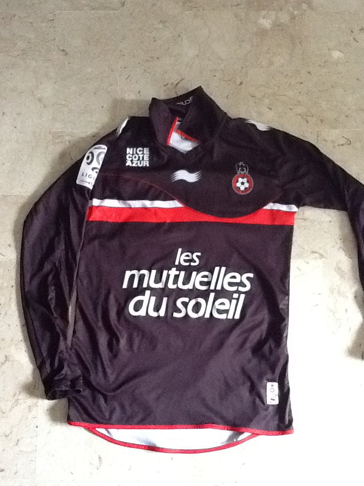 Maillot Anthony Mounier OGC Nice 2011 2012 Collector