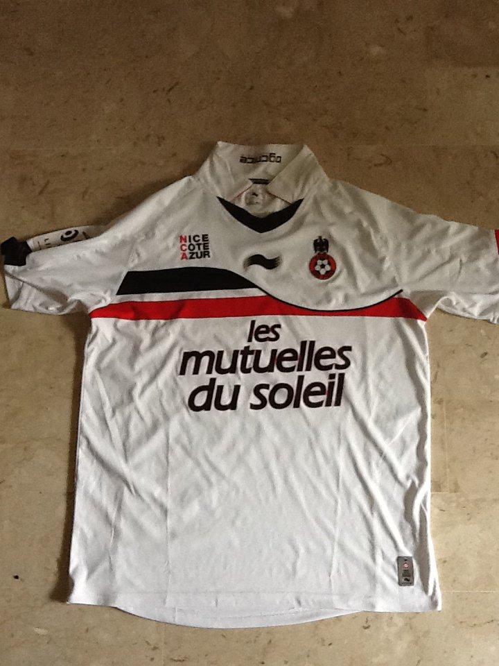 Maillot Drissa Diakité OGC Nice 2011 2012