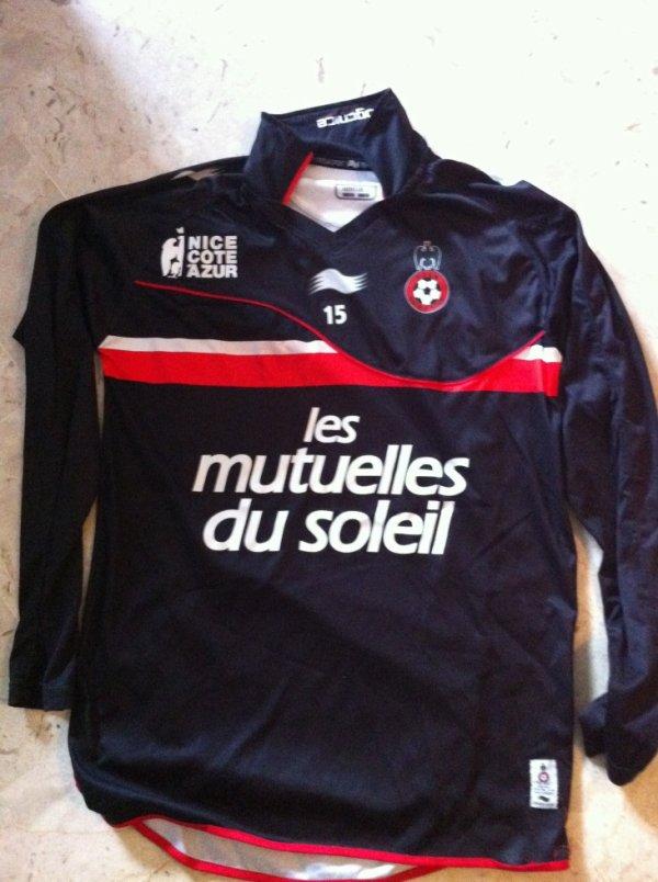 Maillot entrainement Meriem OGC Nice 2011-2012