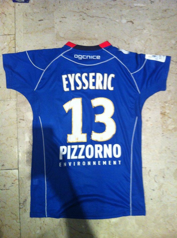 Maillot Valentin Eysseric OGC Nice 2012-2013