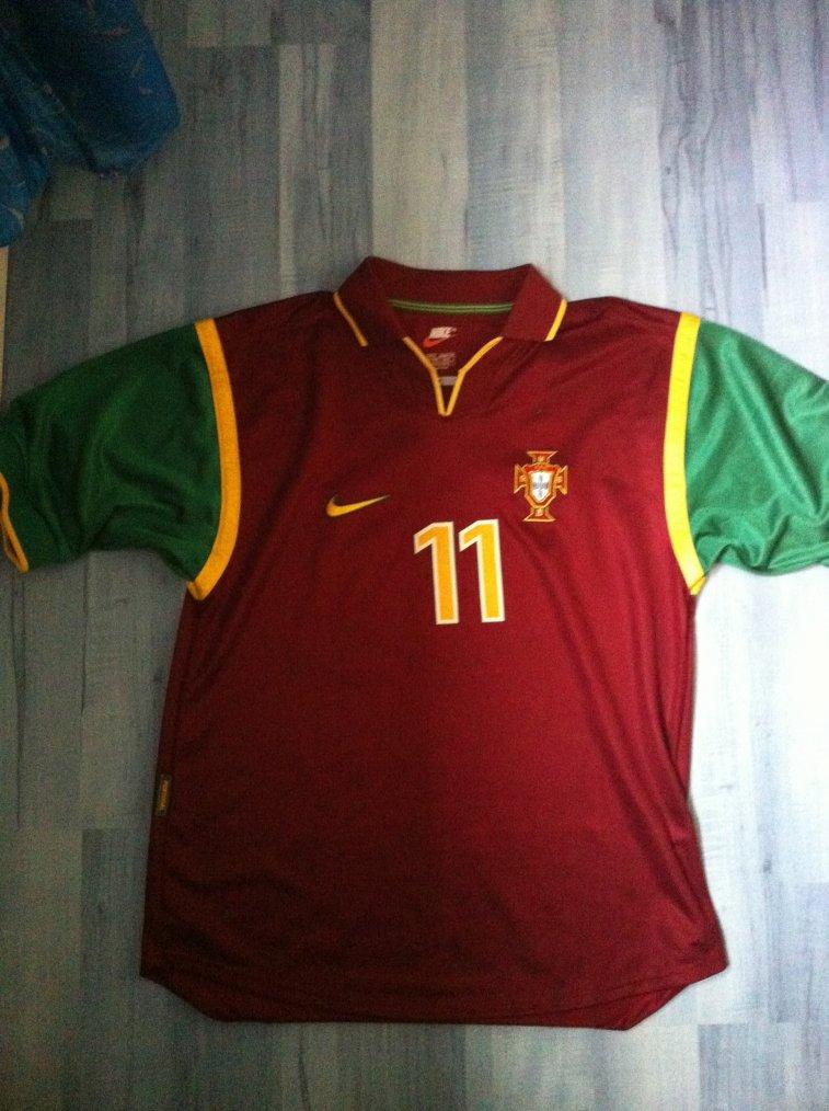 Sergio Conceicao porté Selecao Portugal Qualication Euro 2000