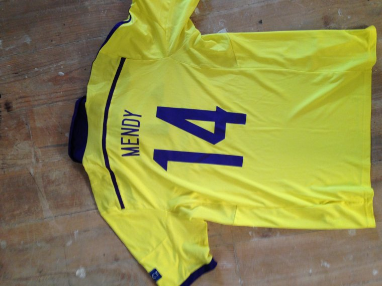 Maillot Jean-Philippe Mendy Maribor 2014-2015 Champions League (vs Sporting)