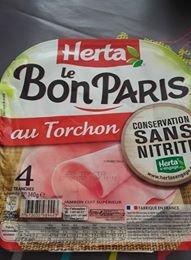 jambon de paris au torchon Herta sans nitrite