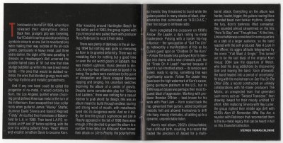 "Scans de ""The Essential KoRn"""