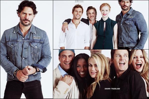'Fiche personnage ● Fiche épisode ● News ● Newsletter  ● Autres' ____________________________________ Comic con True Blood : 2012  Tous les acteurs de True Blood étaient réunis pour le Comic con True Blood : 2012 !