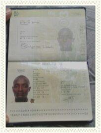 c'est mon pasport