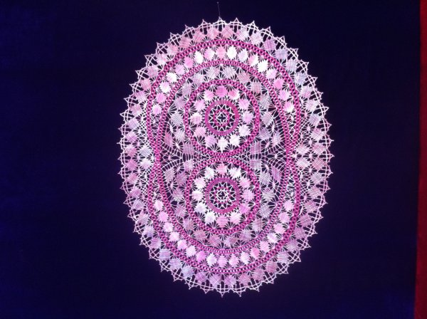 Joli oval de Raymonde, très beau travail , modèle de Michel Jourde