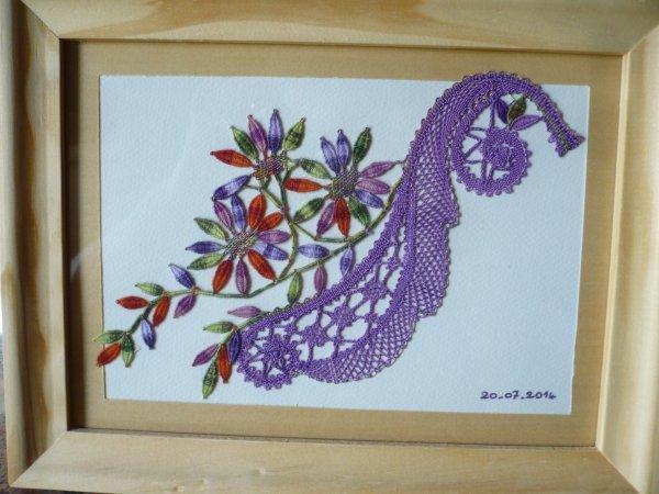 BABETH,  très joli travail,  sublimé par les couleurs, qui est parti en cadeau je crois